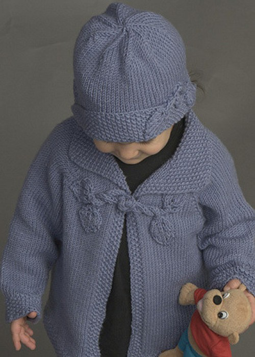 Sooo Sweet Girls Cardigan - Free Pattern