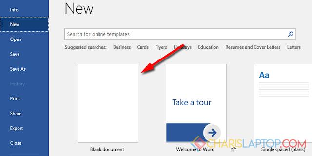 Belajar Membuat Dokumen Microsoft Word
