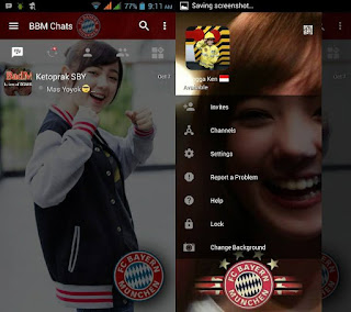 BBM Change Background with Bayer Munich