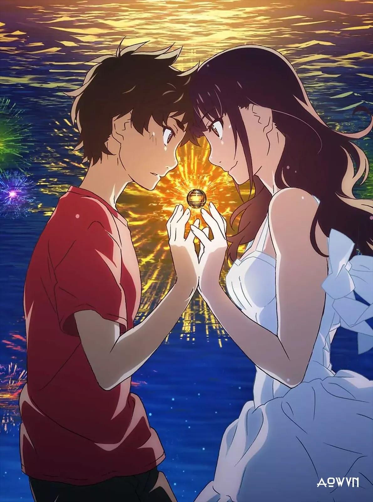 AowVN.org minz%2B%252813%2529 - [ Hình Nền ] Anime Uchiage Hanabi Shita Kara Miru Ka cực đẹp | AowVN Wallpapers