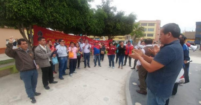 GRE Lambayeque ya inició el reemplazo de 24 docentes que continúan acatando huelga indefinida iniciada el 18 de junio