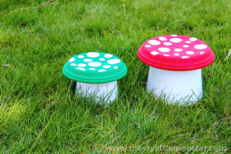Flower Pot Toadstool - An easy garden project for kids