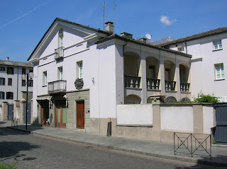 Manzetti's house in Aosta on Rue Xavier de Maistre