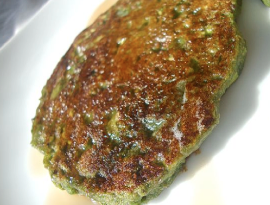 Green Pancakes (Kale or Spinach)