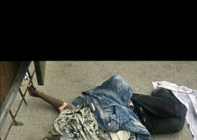 Notorious Area Boy Stabs Himself To Death After Complaining Of Seeing Ghosts In Lagos