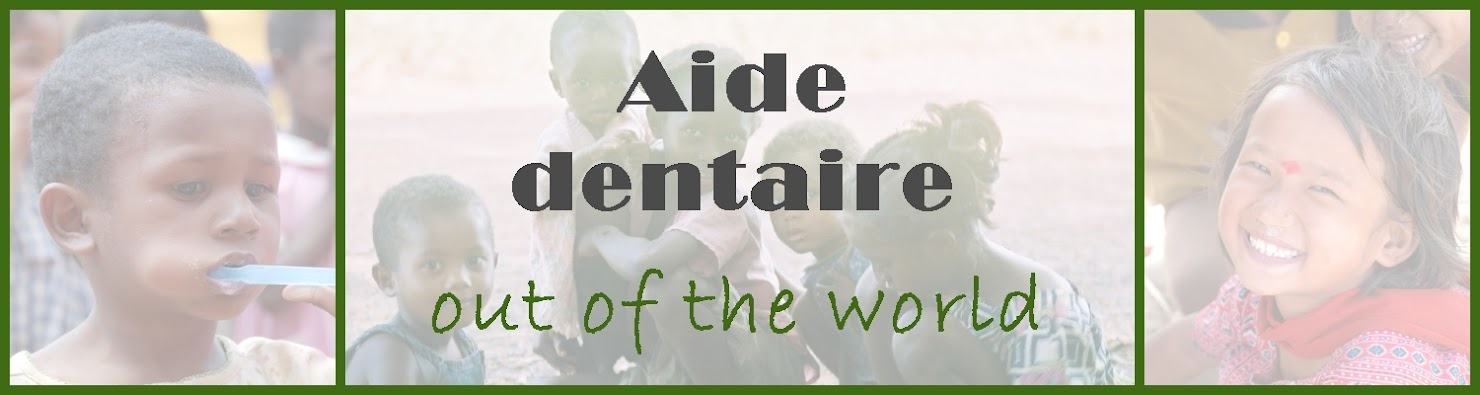 aide dentaire out of the world