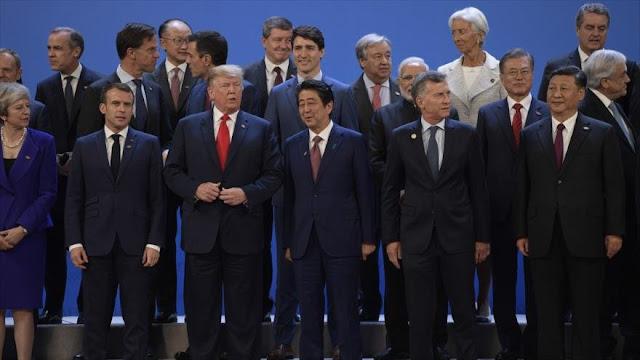 G20 se centra en la guerra comercial de EEUU y China