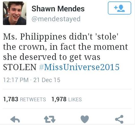 Why Miss Colombia doesn't deserve the title #MissUniverse2015?