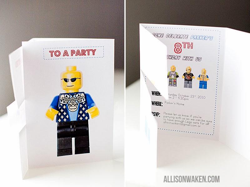 Flambant neuf Jadhéo: Pour un anniversaire 100% Lego RL37