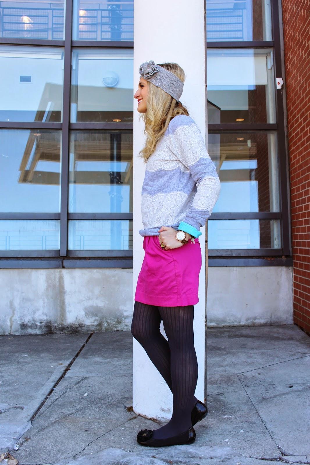 bijuleni - pink skirt