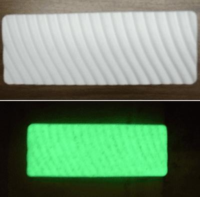 concreto fluorecente invento luz hormigon