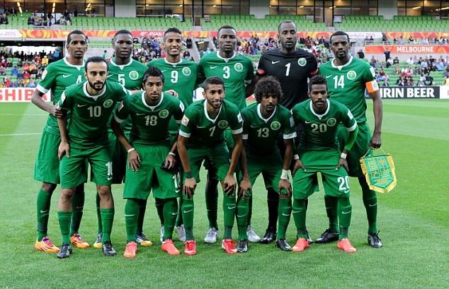 جدول مواعيد مباريات منتخب السعودية في نهائيات كاس العالم 2018