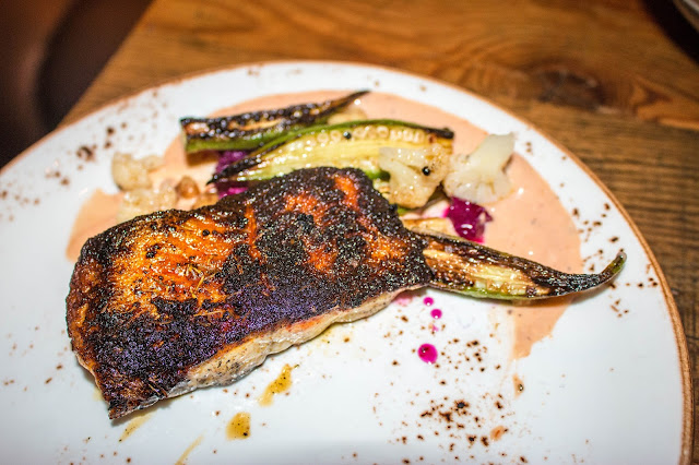 The Fat Ham - Blackened Catfish