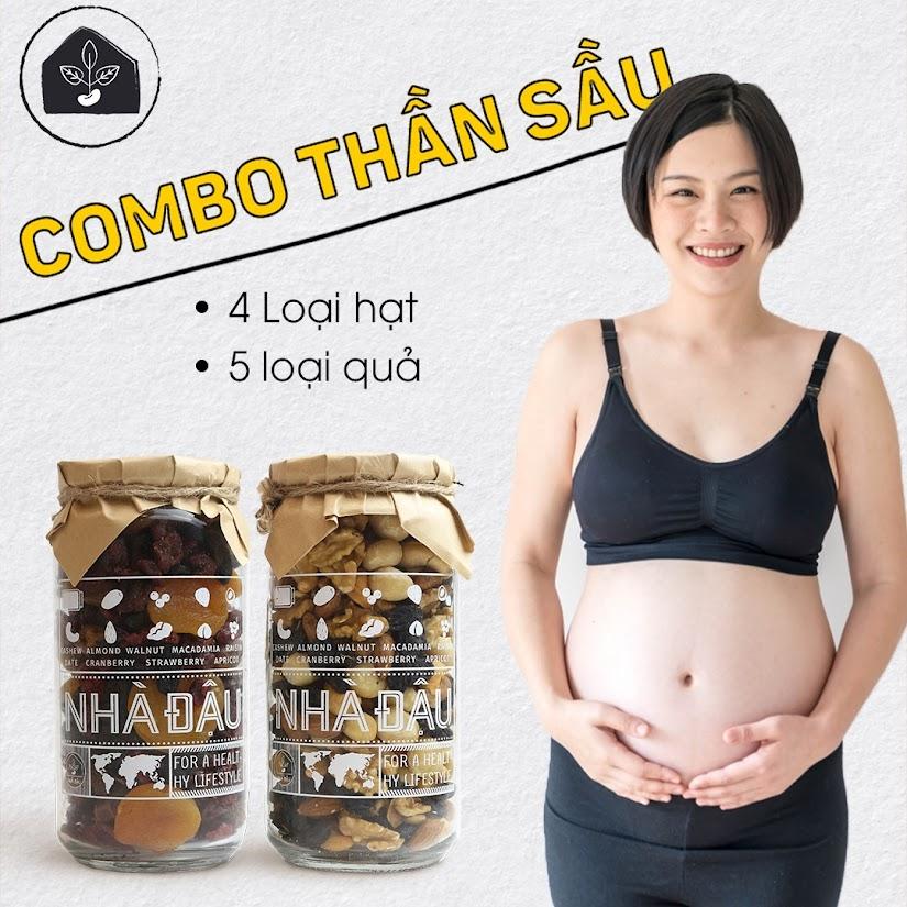 [A36] Mẹ Bầu ăn combo dinh dưỡng bổ sung Canxi và Sắt