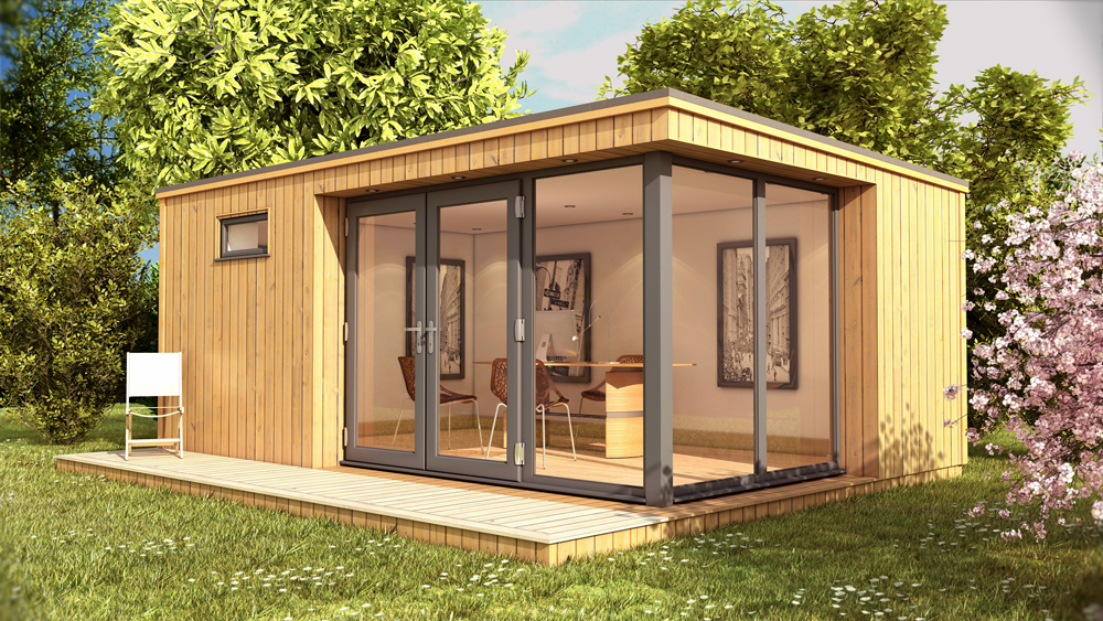Shedworking how to choose a garden office for Timber garden rooms