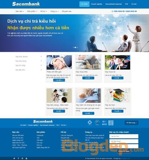Mẫu blogspot giới thiệu dịch vụ