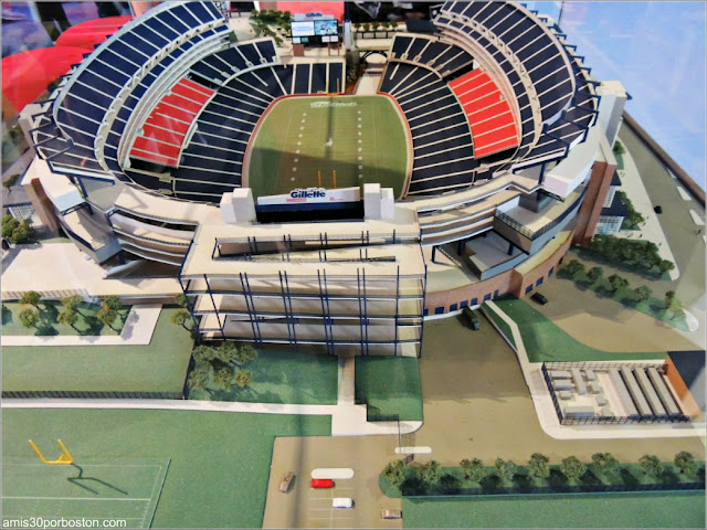 Maqueta del Estadio Gillette