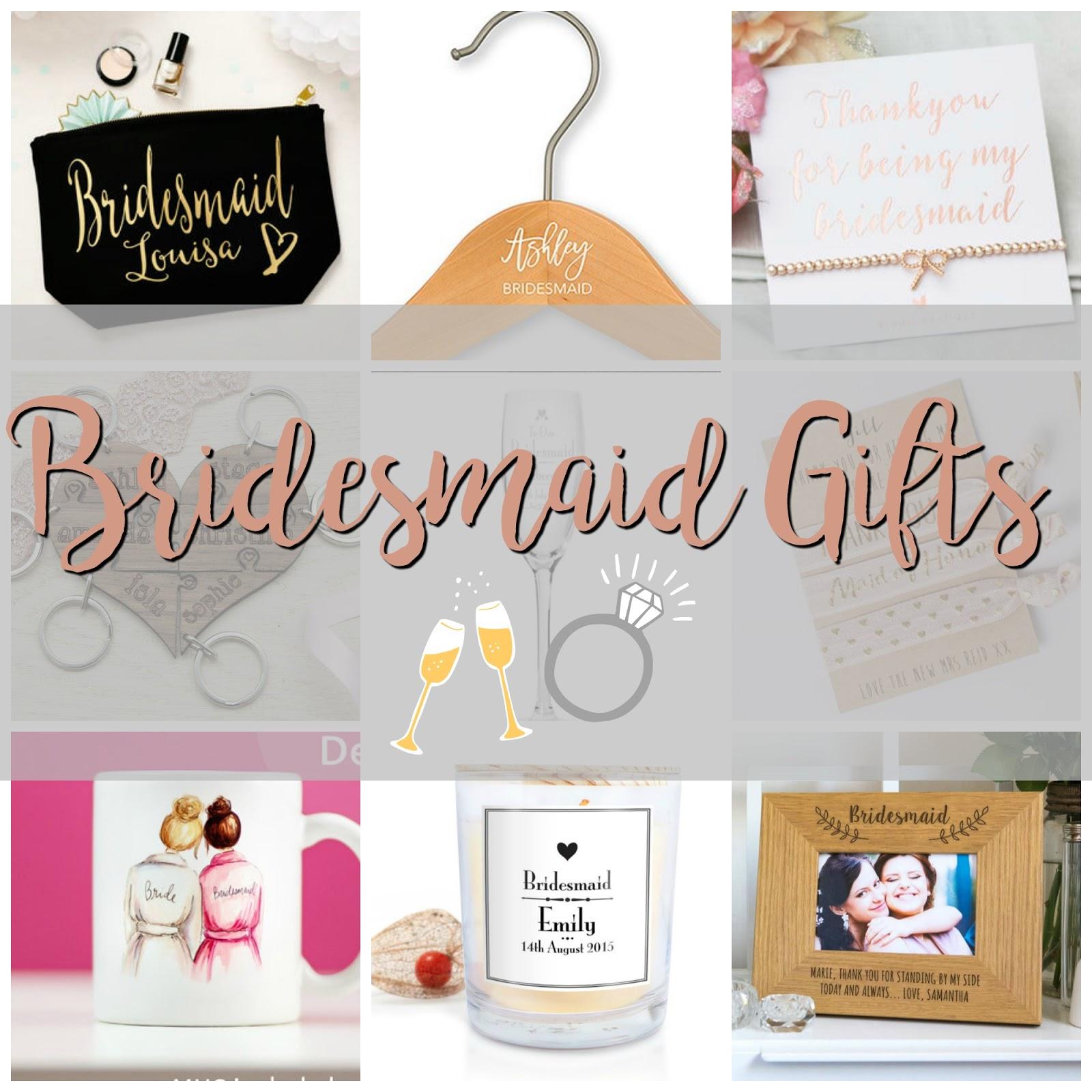 Wedding Wednesday Bridesmaid Gifts Jenna Suth