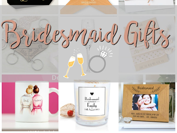 Wedding Wednesday: Bridesmaid Gifts