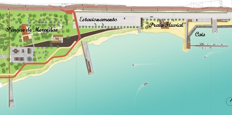 valada do ribatejo mapa Praia Fluvial de Valada e Parque de Merendas   Local Low Cost  valada do ribatejo mapa