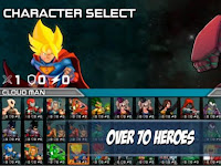 Download Superheros 3 Fighting Games Apk V1.3 (MoD Money) Terbaru 2017