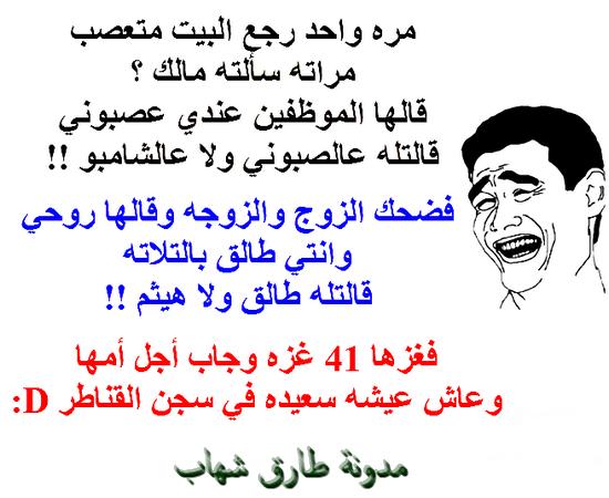 الش رخيص على مدونة طارق شهاب