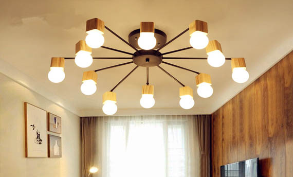 Model Lampu Plafon Gantung Ruang Tamu Minimalis