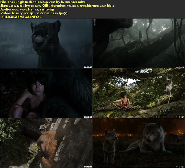 Descargar The Jungle Book Subtitulado por MEGA.