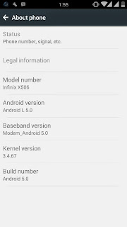 Lollipop Custom Rom For Infinix Zero
