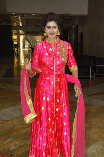 Shamili in Pink Anarkali Dress 09.JPG