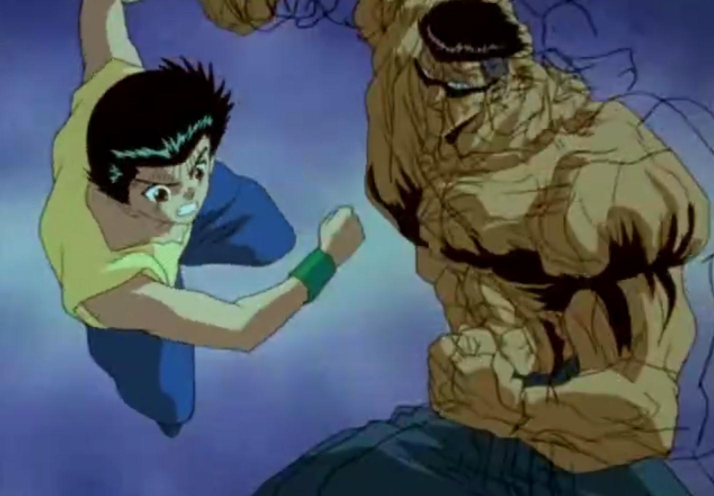 Yu Yu Hakusho Dublado: Episódio 61 – O Confronto de Dois Grandes Lutadores
