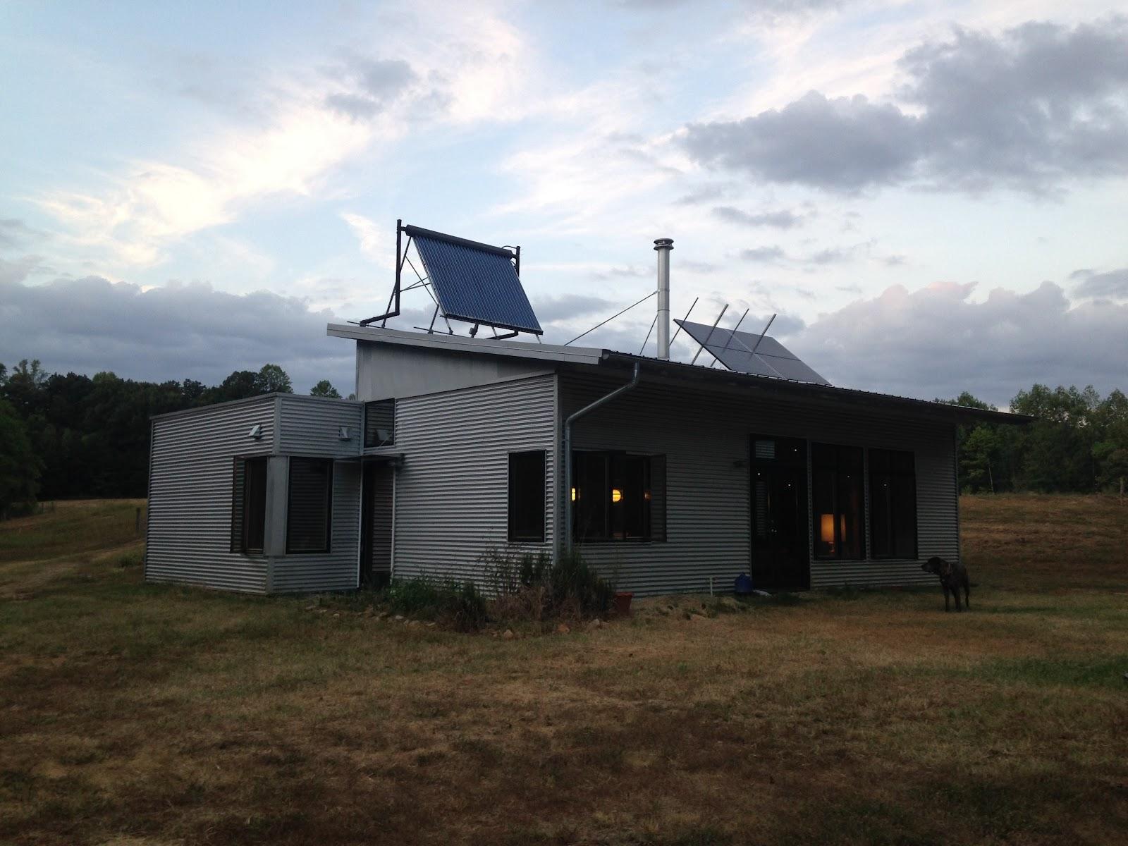 Passive solar net zero prefab house prepares for another for Passive solar prefab homes
