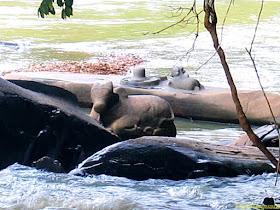 Sahasaralinga, Aghanasini River, Sirsi