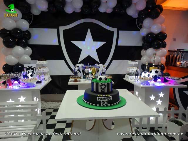 Decoração Botafogo aniversário - Mesa temática de festa