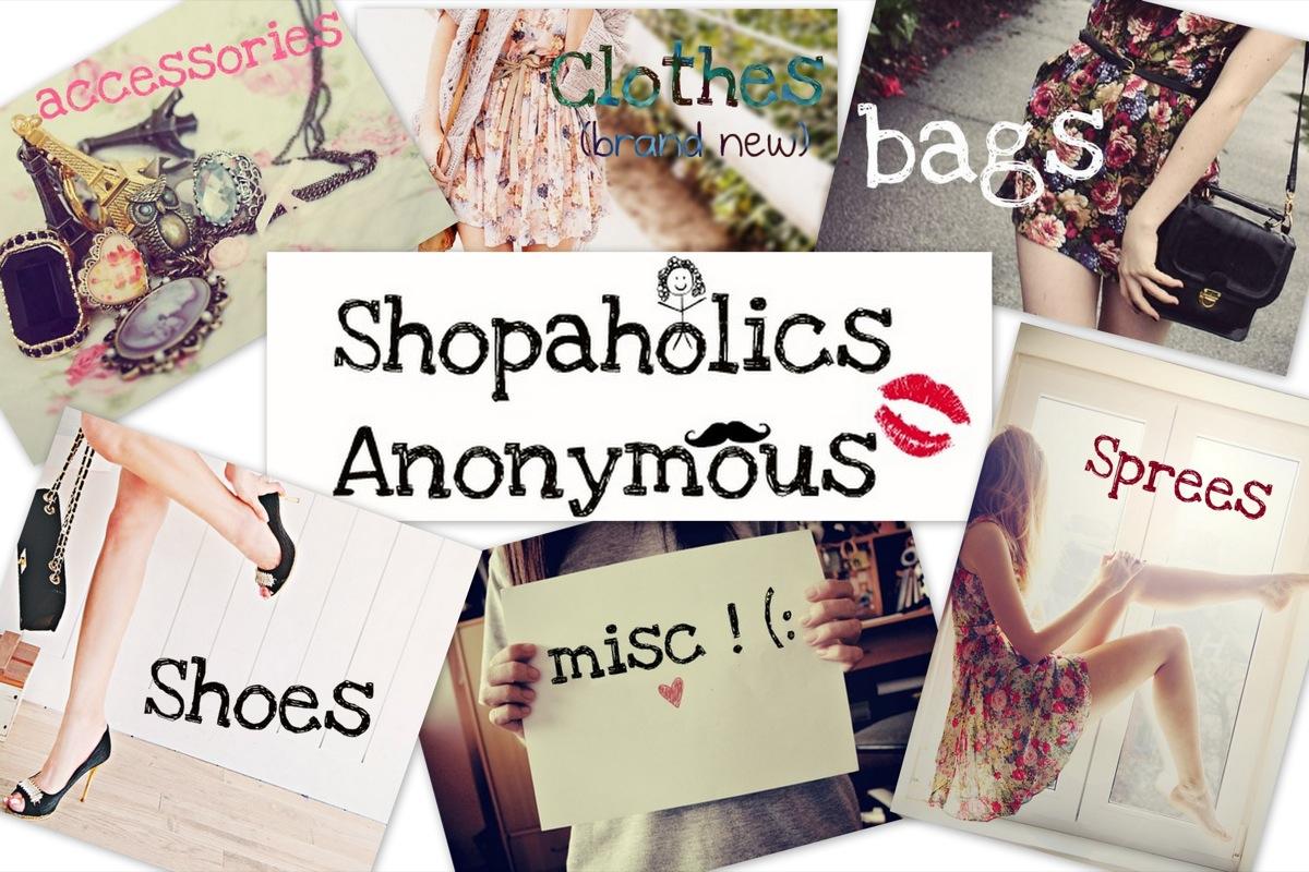 Spendaholics anonymous