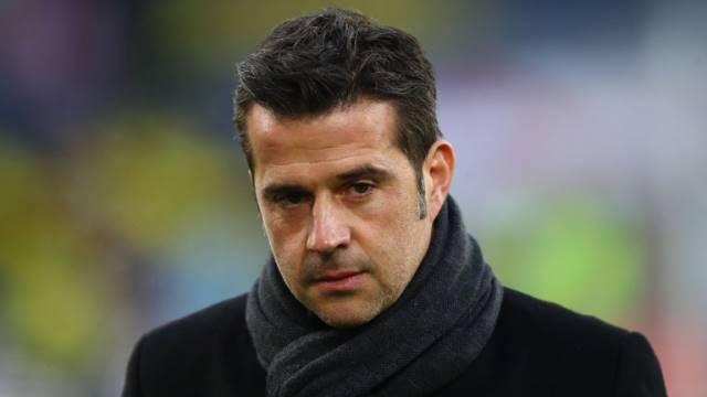 Everton coach Marco Silva