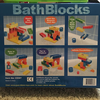 BathBlocks STEM educational bath toy