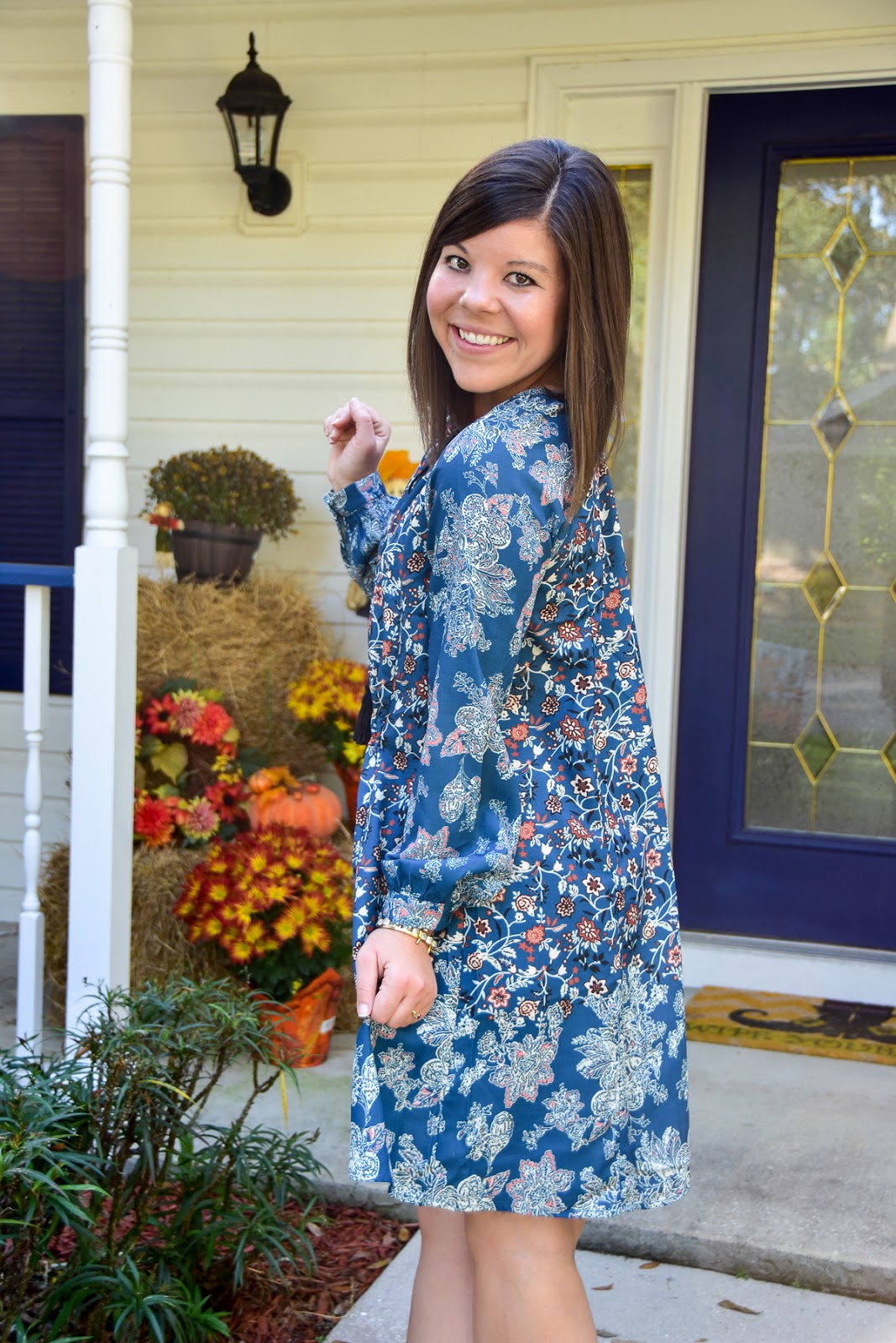 Boho Blues & The Cutest Dress Under $20!