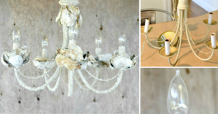 Diy shell chandeliers coastal decor ideas and interior design diy shell chandeliers coastal decor ideas and interior design inspiration images aloadofball Images