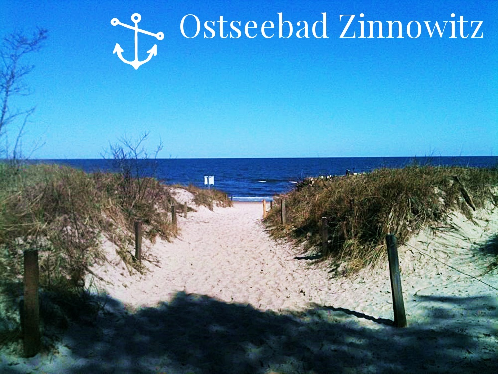 Beachimpressions and a look from the  dunes to the baltic sea in Zinnowitz, Insel Usedom