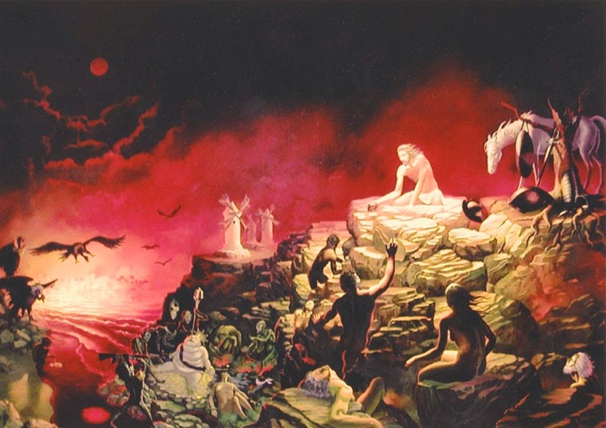 Cristo Quixote - Ileana Cerato e seu surrealismo nostálgico ~ Pintor argentino