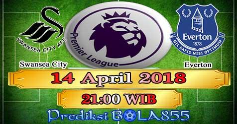 Prediksi Bola855 Swansea City vs Everton 14 April 2018