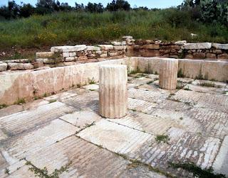 το Λουτρό της Παλαίστρας στην Αρχαία Μεσσήνη