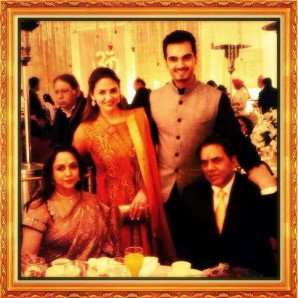 Ahana Deol's wedding celebrations begin