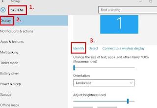 Cara Mengatur resolusi layar untuk beberapa monitor di Windows 10