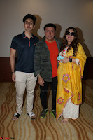 Govinda with wife Sunita Ahuja and Son Yashvardan Ahuja at Screening Of her new movie Aa a Hero 9.JPG