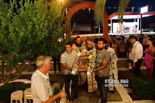 Γιορτάζει το εκκλησάκι της Αγίας Ευφημίας στην Τίρυνθα (βίντεο)
