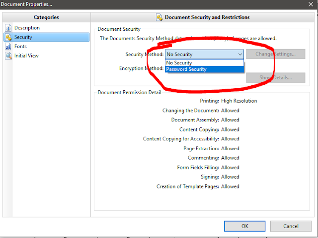 Cara kunci PDF