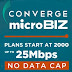 Converge Microbiz: Upgrade to Fiber. Upgrade Your Business.