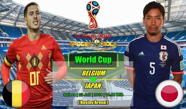 Prediksi Belgium vs Japan 3 Juli 2018